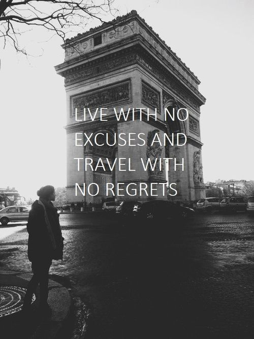 #noregrets #travel