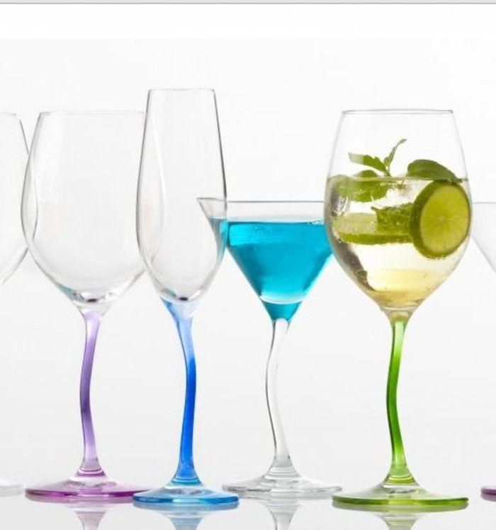 Leonardo wine glass architecture of the wine glass flute Champagne of modella collection