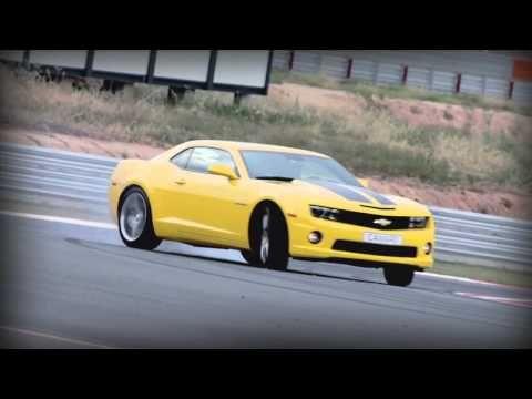 Check out Yvan Muller drifting a Chev Camaro!
