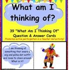 Riddle Questions Cards with Picture answers for Kindergarten and First Grade  Here are 39 easily recognizable Riddle Question Cards for young learn...