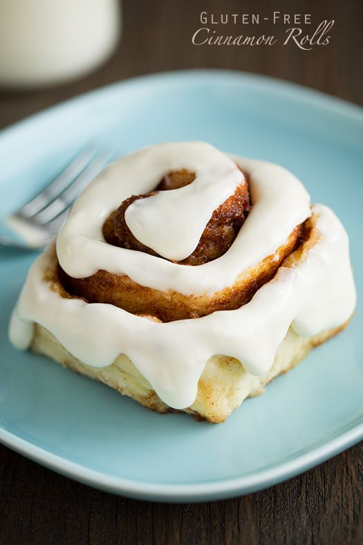 1 Hour Gluten-Free Cinnamon Rolls - you'd never know these were gluten free!