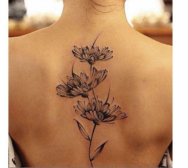 Tatuaż na plecach - 25 uroczych wzorów dla dziewczyn - Strona 6