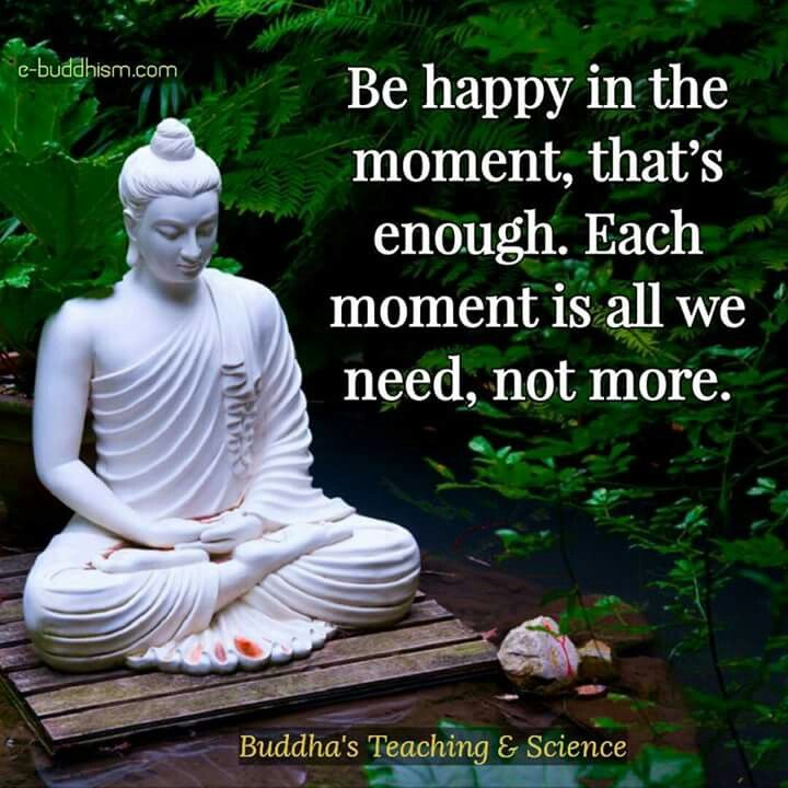 Happiness happens moment by moment. Enjoy every moment of them all!