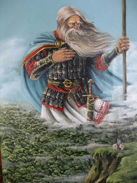 Svyatogor - Holy Mountain