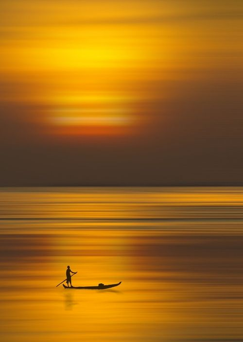 it was in that moment that he could hear his thoughts, not in words, but in song. a sweet low hymn sung softly to the golden moments of a solitary life.