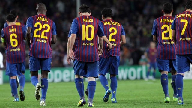 The men that make FC Barcelona!