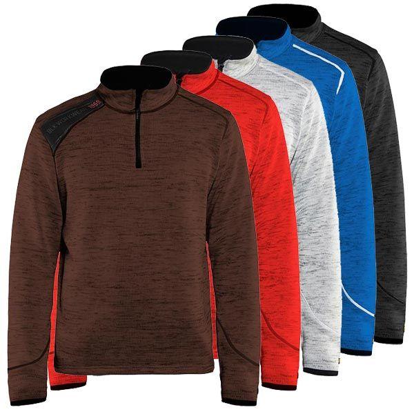 blaklaeder-gestrickter-half-zip-pullover