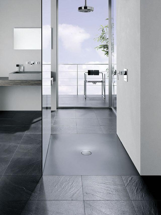 Extra flache Duschwanne für das moderne Badezimmer
