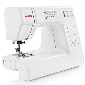 Macchina da cucire Janome HD 3400 - Macchina per cucire meccanica portatile per sartoria domestica.