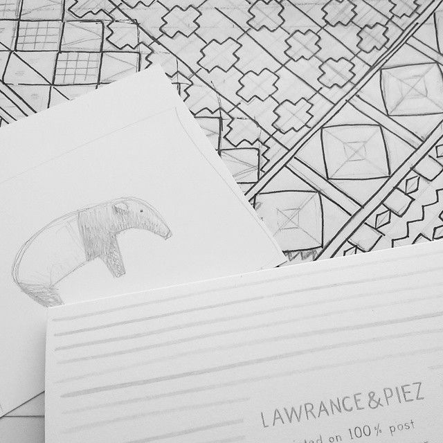 sketching patterns and characters
