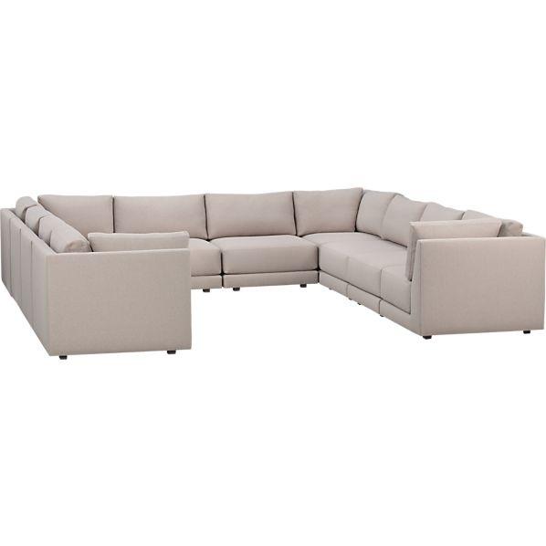 23 best Sectional ideas images on Pinterest Modern furniture - moderne modulare kuche komfort