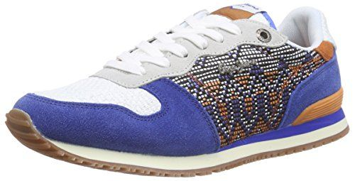 Pepe jeans london aberlady sequins damen sneakers