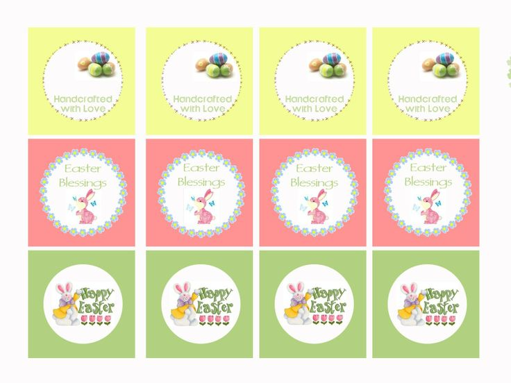 53 best church ideas images on pinterest easter gift free free printable easter gift tags negle Image collections