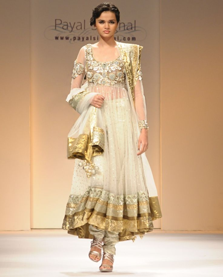 Beautifully Embroidered Anarkali