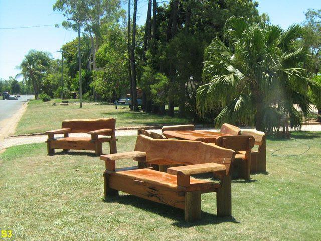 Australian Hardwood Garden Seat