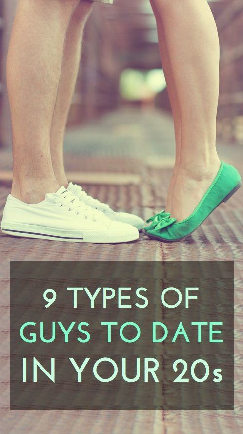 9 kinds of people to date while you're in your 20s