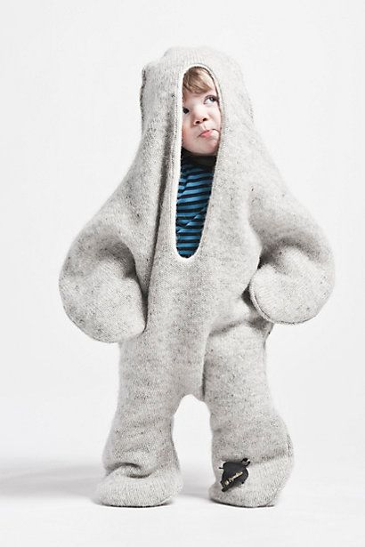 Baby Seal Suit @Anthropologie $150