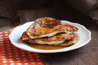 Pumpkin French Toast Stuffed with Orange Cream Cheese | Tasty Kitchen: A Happy Recipe Community!
