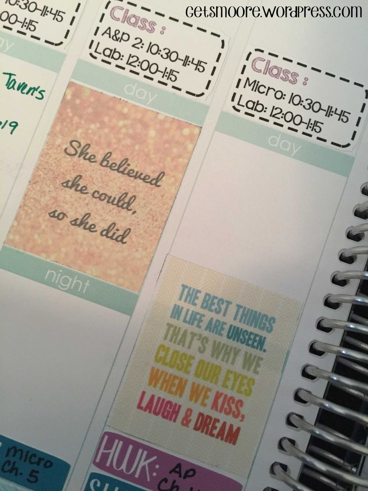 FREE PRINTABLE Inspirational Stickers for Erin Condren ...