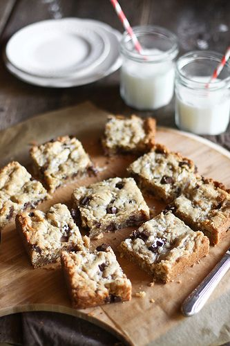 Honey & Jam: Samoa Blondies.