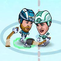 Hockey Legends : Coloque seus patins, pegue seu taco e prepare-se para jogar partidas de hóquei emocionantes no jogo Hockey Legends. Mostre suas habilidades e marque muitos gols para vencer a partida de hóquei.