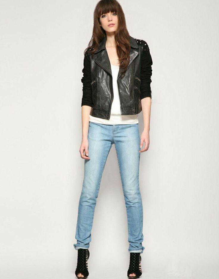 Skinny women, Tall women and Jeans on Pinterest