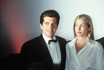 John F. Kennedy Jr. and his wife Carolyn Bessette Kennedy attend the 'Brite Nite Whitney' Fundraising Gala March 9, 1999 at the Whitney Museum of American Art in New York City. July 16, 2003 marks the four-year anniversary of the plane crash off the coast of Martha's Vineyard in Massachusetts that killed Kennedy, his wife, and her sister Lauren Bessette.