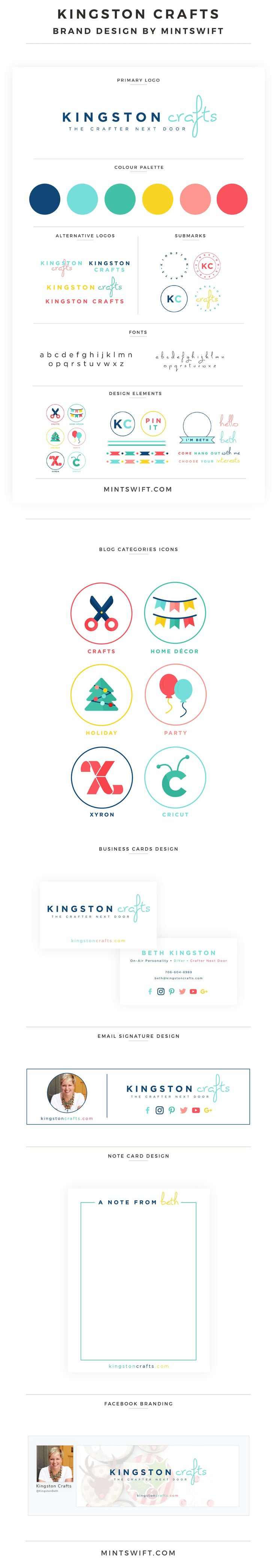 Brand Design for Kingston Crafts