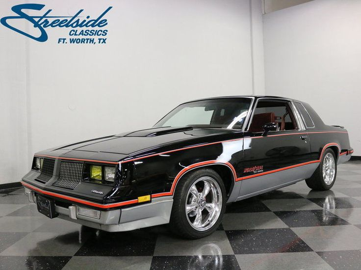"""Introduced to mark the 15th anniversary of the first of its kind to hit the market, this 1983 Oldsmobile Cutlass Hurst/Olds is just 1 of 3001 produced and marks an important time in Oldsmobile's history as a sort of """"keeper of an era."""" At the time of its release, Detroit was moving away from the more traditional big engine, rear wheel drive cars and the venerable Cutlass brand was literally split into two distinct factions - the front wheel drive Cierra, with its modestly-s..."""