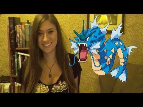 Voice ALL the Original Pokemon!! This is just ...wonderful! Her comment on Victebel is hilarious