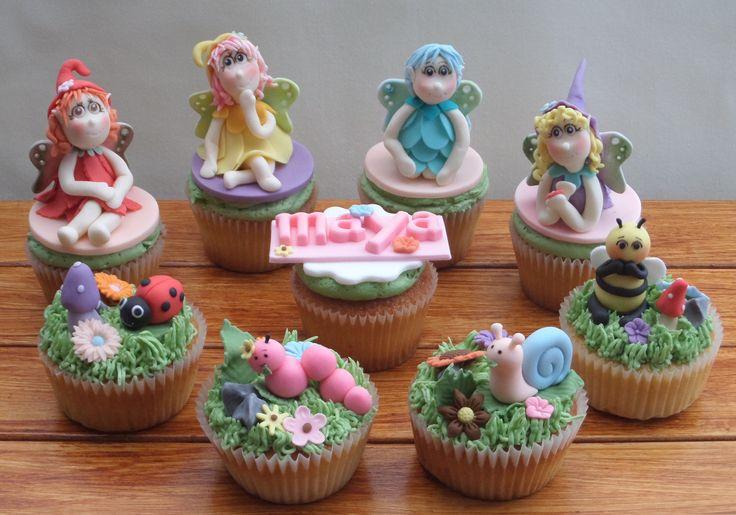 Fairy Theme Cupcake
