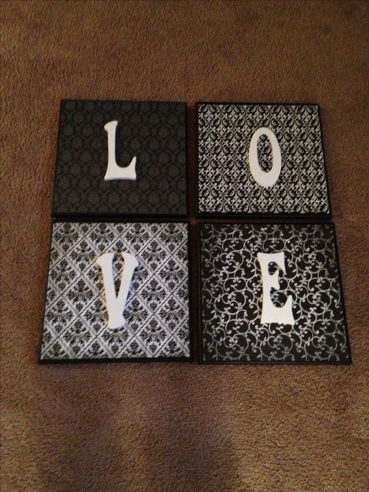 Home Decor DIY Canvases