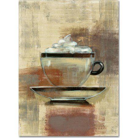 Trademark Fine Art Cafe Classico II Neutral Canvas Art by Silvia Vassileva, Multicolor