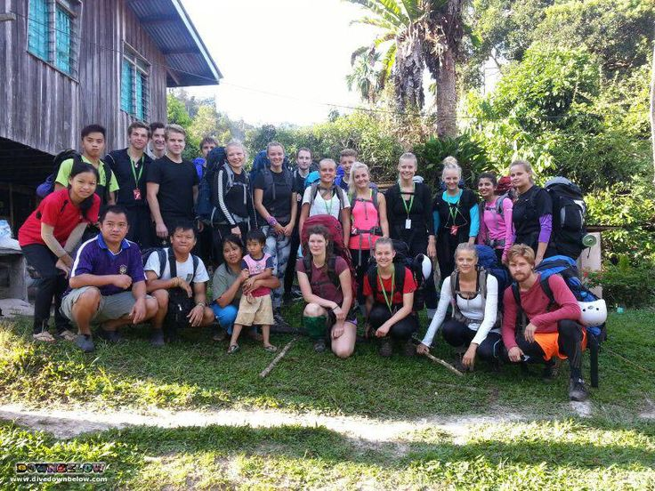 Finally, they've arrived at the first village homestay along their Salt Trails jungle trekking route :)
