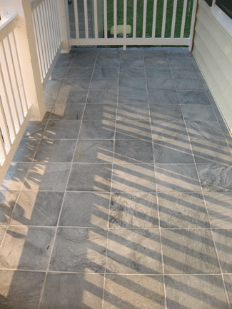 1000 Images About Tiled Front Porch On Pinterest Slate
