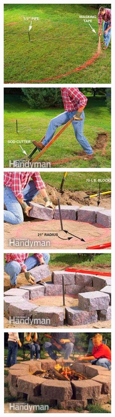 Diy : Build a Stone Fire Ring | DIY & Crafts Tutorials