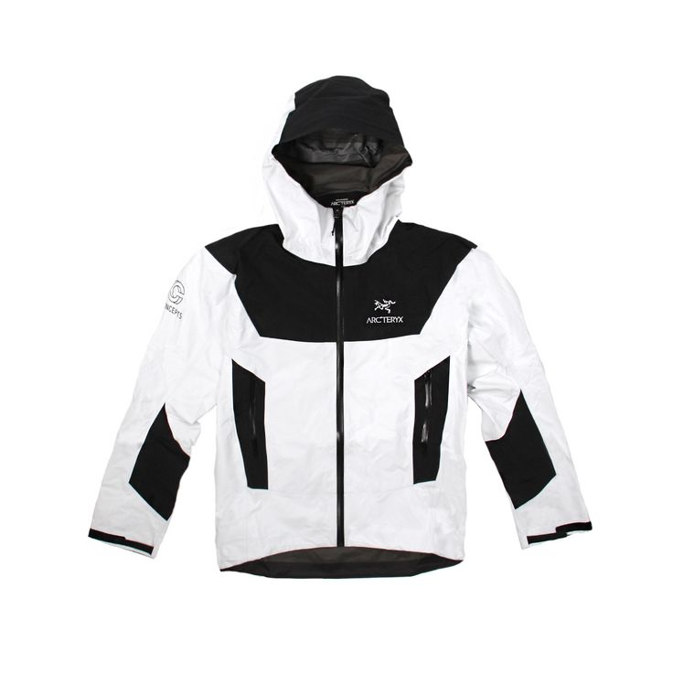 Concepts International | Concepts x Arc'Teryx Beta SL Jacket (Black/White) http://bellanblue.com