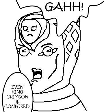 Resultado de imagen para king crimson jojo