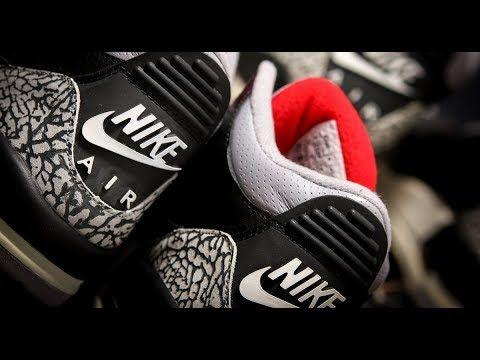 5526d8b9cb865 2018 Air Jordan 3 OG Black Cement 30th Anniversary First Look ...