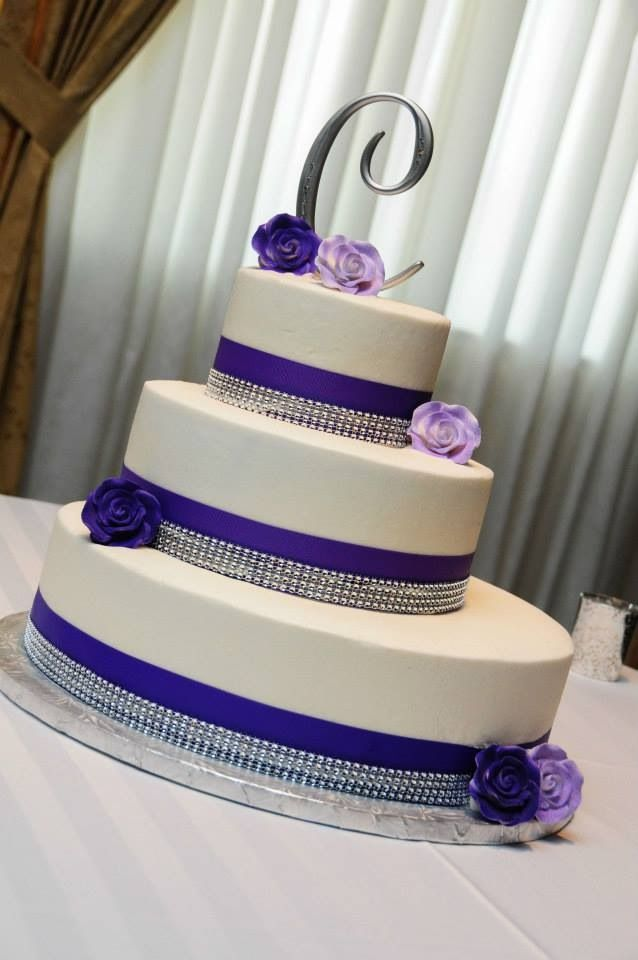purple white and silver wedding cakes 111 best images about wedding cakes on white 18927