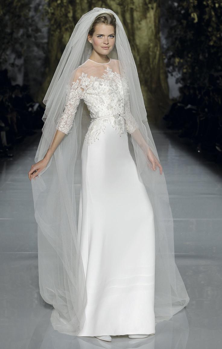 Stunning Barcelona Bridal Week Elie by Elie Saab Spring Collection Pronovias