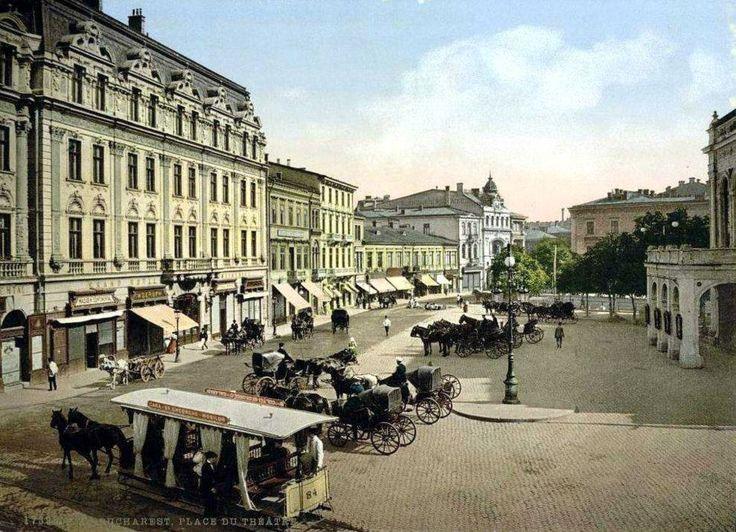 Bucuresti - Hotel Continental - Calea Victoriei - 1895