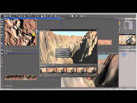 Modeling Canyon in World Machine, rendering, part 4 of 4 - YouTube