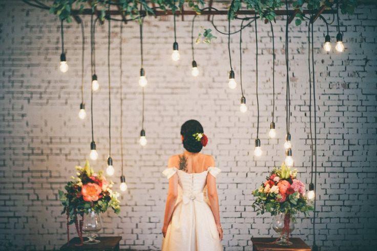 Loft wedding: стилизованная съемка - Weddywood