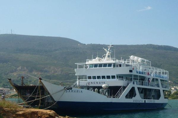 "Only one vessel for Gavdos, Paleohora and Sfakia. Major damage in F/B ""Samaria"""