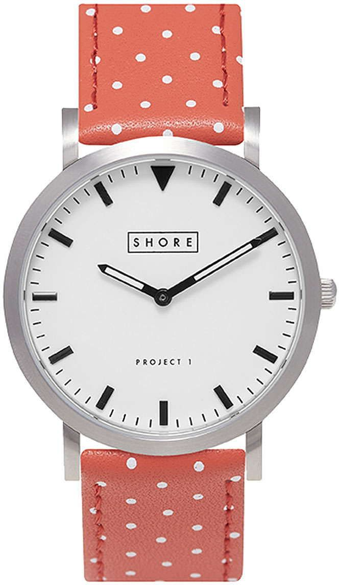 Womens coral watch from Topshop - £120 at ClothingByColour.com