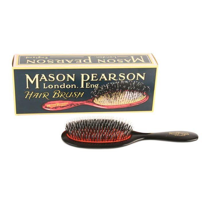 Mason Pearson hårbørste, Handy - mørk rubin | LirumLarumLeg