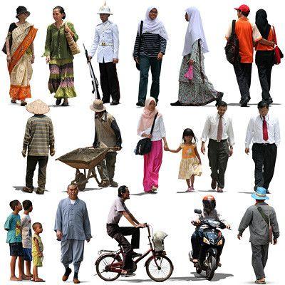 Texture psd people oriental human