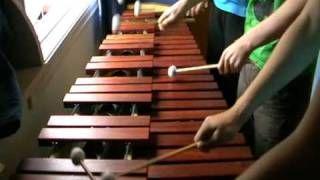 Zelda Ocarina of Time - Gerudo Valley on Marimba, via YouTube.