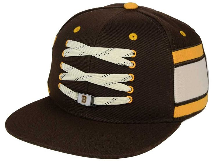 Boston Bruins Zephyr NHL Original 6 Locker Snapback Hat